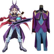 Yu-Gi-Oh! ARC-V A Dark Reflection Duel Academy Yuri Joeri Outfit Anime Cosplay Costume C018