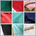 1psc multi-color Plisado vestido de falda de Gasa plisada de tela de tela de color sólido para órgano aplastado (plisado 0.5 m)