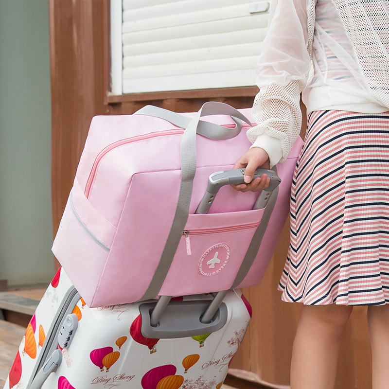 New Wholesale Folding Trolley Ryggsäck Stor Kapacitet Vattentät - Väskor för bagage och resor - Foto 4