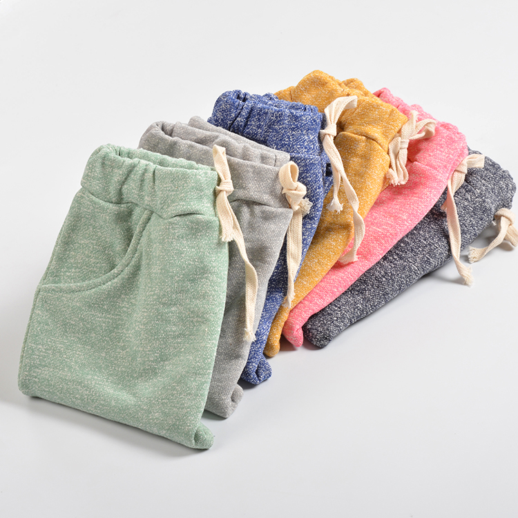 2018 hot sale sophie children harem pants for boys trousers kids child casual pants candy solid colors candy color slim casual pants
