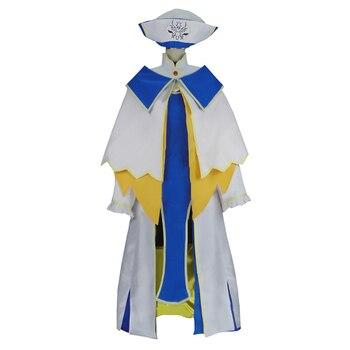 bcaa8fed6 Duende Anime cazadora Onna fumadores Cosplay traje sacerdotisa Perucas las mujeres  vestido de Cosplay uniforme de niña traje de fiesta