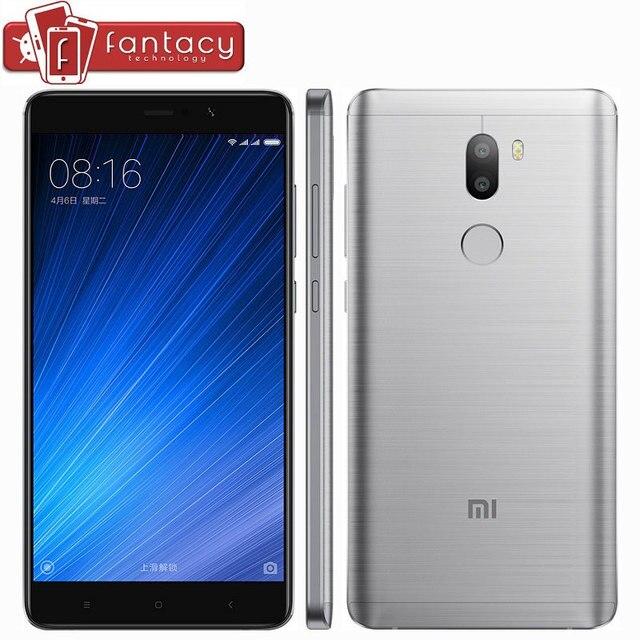 """Оригинал Xiaomi Mi5s Плюс Mi 5S Плюс Премьер 6 Г RAM 128 Г ROM Snapdragon 821 Quad Core 13MP Отпечатков Пальцев ID х 2 5.7 """"мобильный Телефон"""