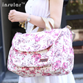 2016 NEW Mother Bag/Baby Nappy Bags/Large Capacity Maternity Mummy Diaper Bag/Multifunctional/Cotton/Flower Style/Retail 1 pc