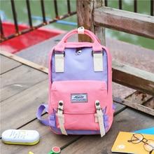 Zhierna новый милый рюкзак старинные рюкзак ранец корейский печати холст рюкзак женские школьные сумки для девочек-подростков