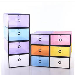 Merveilleux Wholesale Big Size Creative Clear Plastic DIY ShoeBox Shoe Box Stronger  Home Storage Boxes Decoration 60pcs