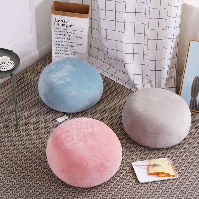 Japanese Style Simple Lazy Couch Bean Bag Tatami Creative Children Small Sofa Bean Bag Single Girl Princess Bay Window Chair цена 2017