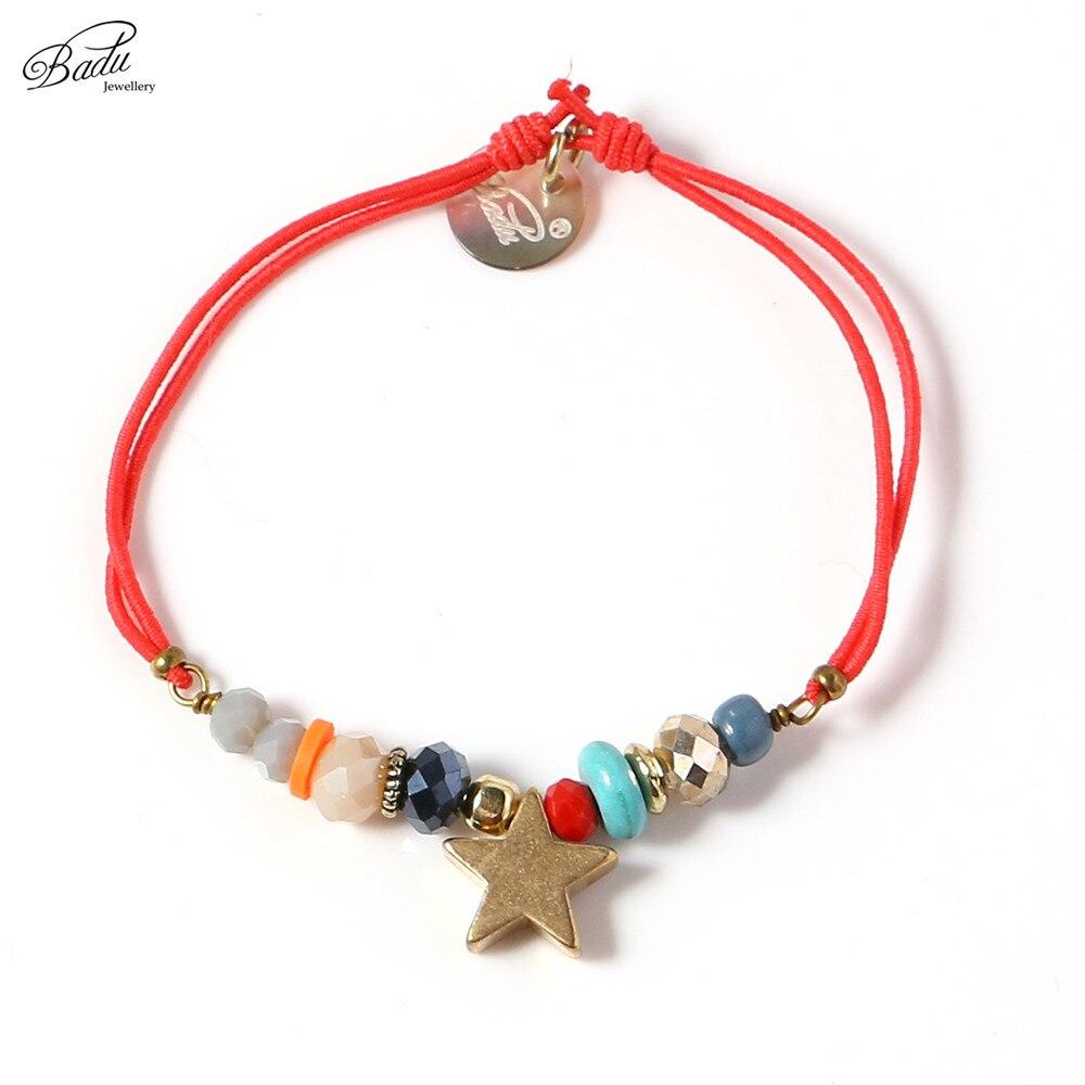 Badu Women Best Friend Білезік Gold Star String Білезік - Сәндік зергерлік бұйымдар - фото 4