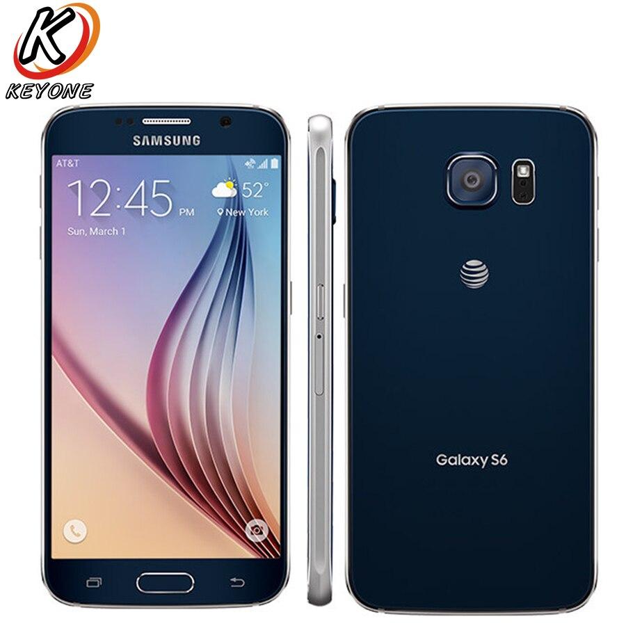 D'origine AT & T Version Samsung Galaxy S6 G920A 4G LTE Mobile Téléphone Octa base 5.1
