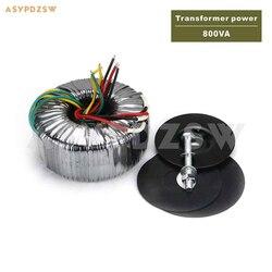 115 V/230 V 800VA OFC czystej miedzi transformator toroidalny 800 W 39-0-39 (zaakceptuj na zamówienie)