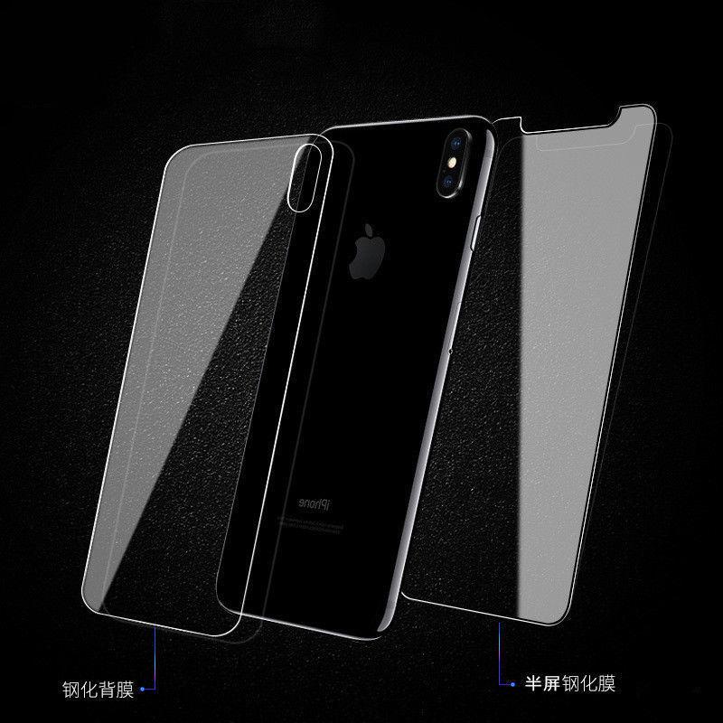 9922 Front Zurück Gehärtetem Glas Für Apple iPhone X 6 s 7 8 Plus Scratch Proof Screen protector