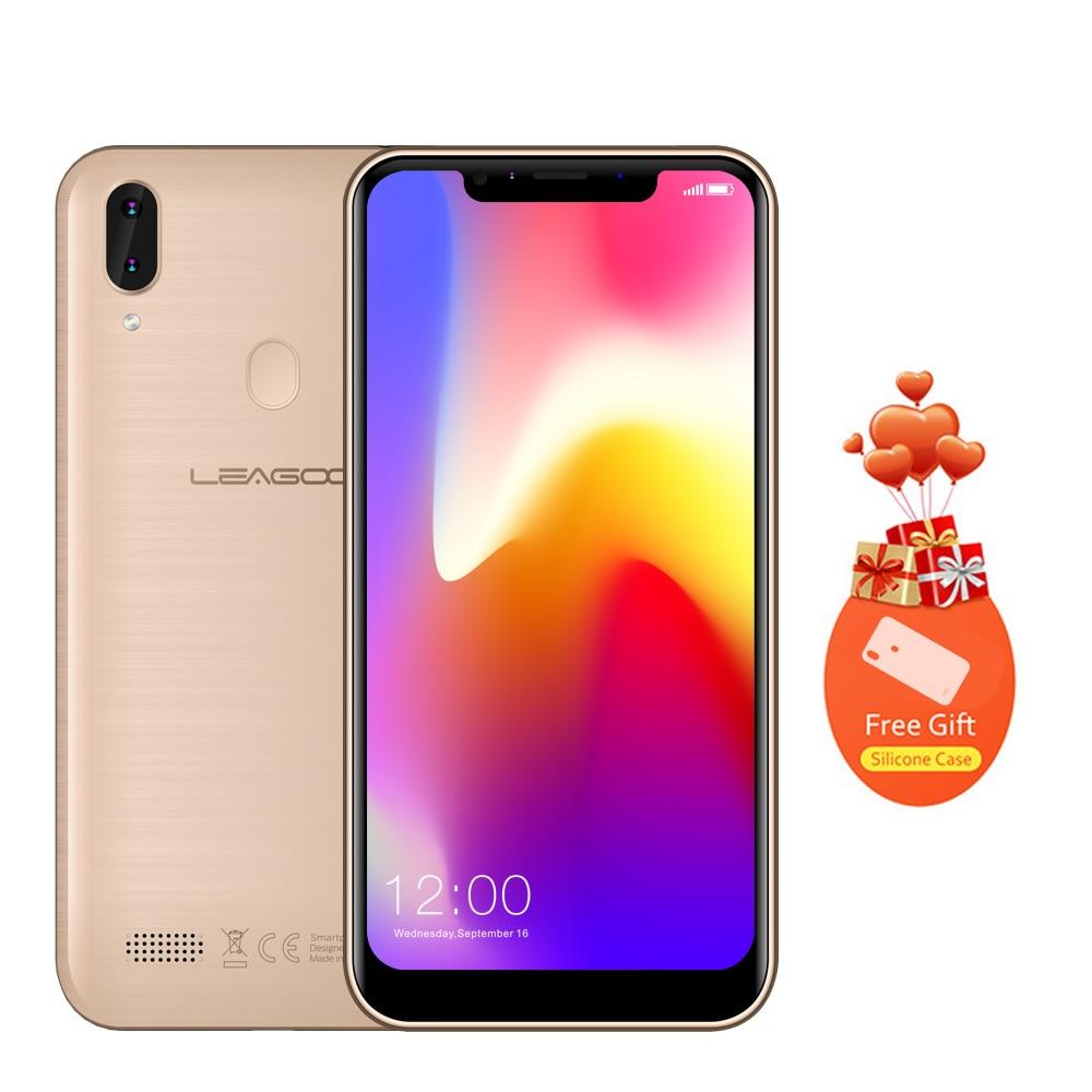 LEAGOO M11 Smartphone Android 8.1 6.18 2GB RAM 16GB ROM MT6739 Quad Core 4000mAh Rear Fingerprint Rapid Charge 4G Mobile PhoneLEAGOO M11 Smartphone Android 8.1 6.18 2GB RAM 16GB ROM MT6739 Quad Core 4000mAh Rear Fingerprint Rapid Charge 4G Mobile Phone