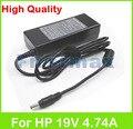 19 В 4.74A 90 Вт ноутбук AC адаптер питания зарядное устройство для HP Pavilion DV6500 DV6500/CT DV6500t DV6500z DV6700 DV6600 DV6700t DV6700z