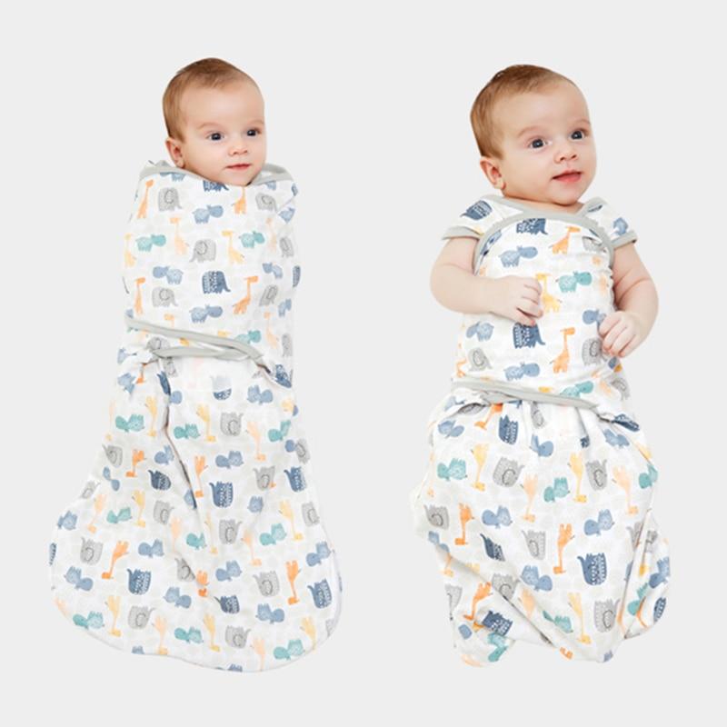 Newborn Swaddle Sack,baby Swaddle Sleep Sack for Newborn Boys and Girls,Baby Swaddle Blanket 0-3 Months,100/% Organic Cotton Swaddle Set 2 Pack
