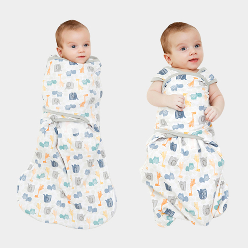 infant baby boy girl 2 to <font><b>6</b></font> months 3 4 <font><b>5</b></font> months swaddle blanket wrap sleep love sack safe and sound by replacing loose blankets image