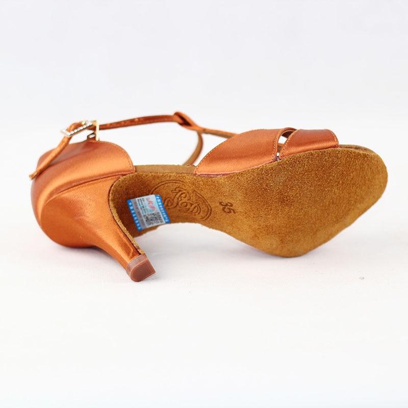 Hot Sale Wanita Sepatu Dansa Latin BD 2358 Satin Sandal Wanita Sepatu - Sepatu kets - Foto 5
