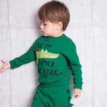 Little maven 2019 autumn new baby boy brand clothes boys animal print toddler sweatshirts C0171