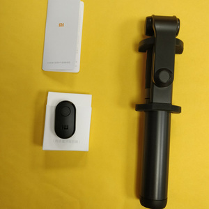 Image 5 - Neueste Xiaomi Einbeinstativ Mi Selfie Stick Bluetooth Stativ Mit Wireless Remote 360 Drehung Flexiable/Verdrahtete Version Android IOS D5