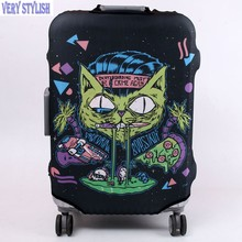 Travel font b Bag b font Trolley Protective Case Suitcase Dust Cover High Quality font b