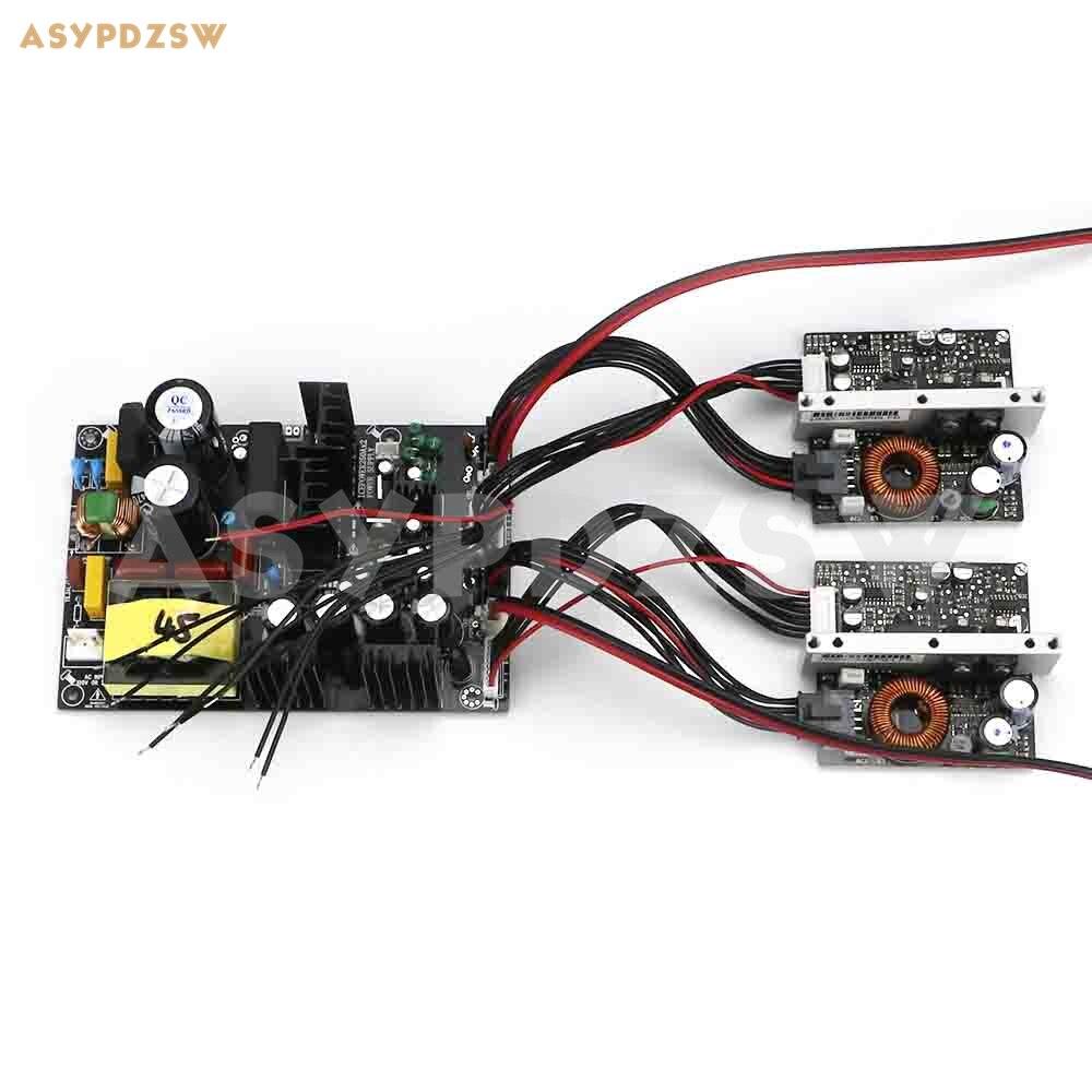 2CH ICEPOWER250A Digital Power amplifier board module+600W switching power board