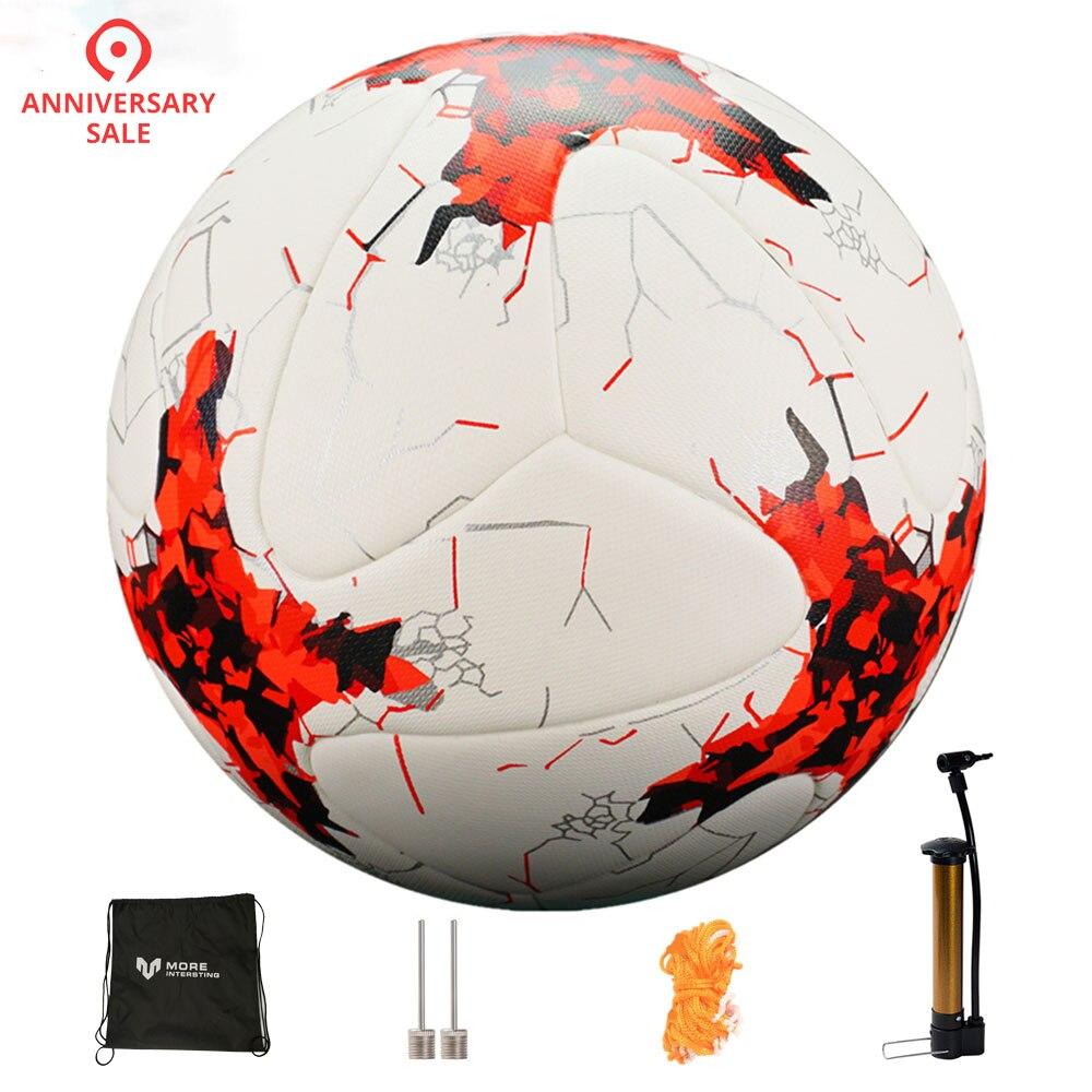 Rusia tamaño 4 tamaño 5 de Fútbol Premier sin pelota de fútbol objetivo equipo bolas de entrenamiento liga futbol bola con bomba regalo