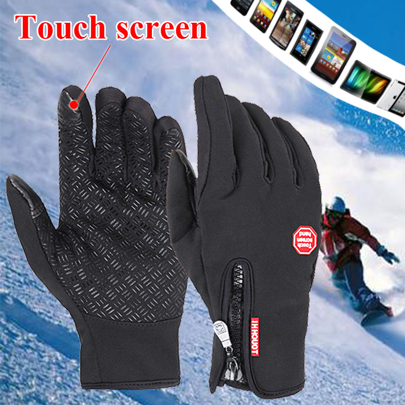 NMSafety Top Selling Winter Sport Windstopper Waterproof Ski Gloves-30 warm riding glove Motorcycle gloves 100% waterproof authentic germany nerve kq 019 leather motorcycle gloves cross country knight glove winter warm breathable