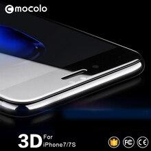Mocolo Официальный 3D вогнутый премиум стекло для iPhone 7 3D экран протектор для i7 плюс стеклянная пленка iPhone 8 8 плюс закаленное стекло