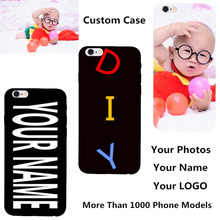 Custom DIY Name Photo Personalized Cover For LG K4 Lte K120e K130e 4.5