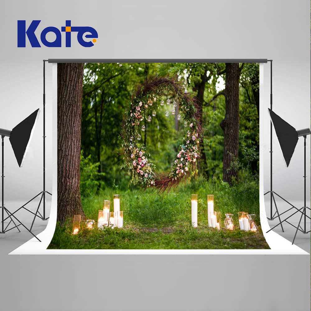 5X7ft Kate Forest Photography backdrop Spring Photo Backdrops Washable and Wrinkle Free Photography Backdrops Garden Backdrop kate digital photography backdrop