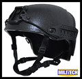 M/LG Black BK NIJ level IIIA 3A Air Frame Kevlar Bulletproof Airframe DEVGRU Helmet With Ballistic Test Report 5 Years Warranty