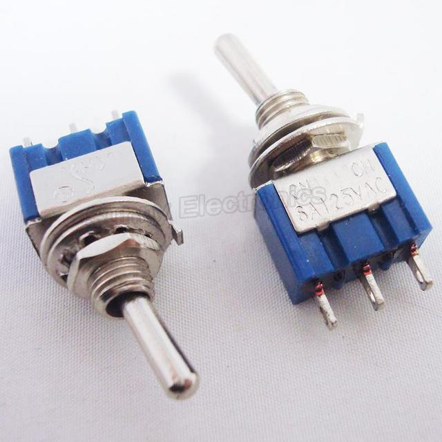 100pcs 3pin spdt mini toggle switch on on in car switches relays rh aliexpress com