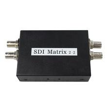 Wholesale SDI Matrix 2x2 Converter Adapter ,SD-SDI HD-SDI 3G-SDI Signal 2 ports of input to output
