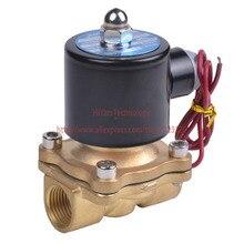 2W400-40 N/C 2 Way 1.5 «Воды Газа Пневматический Электрический Электромагнитный Клапан Вода Воздух DC12V, DC24V, 220В