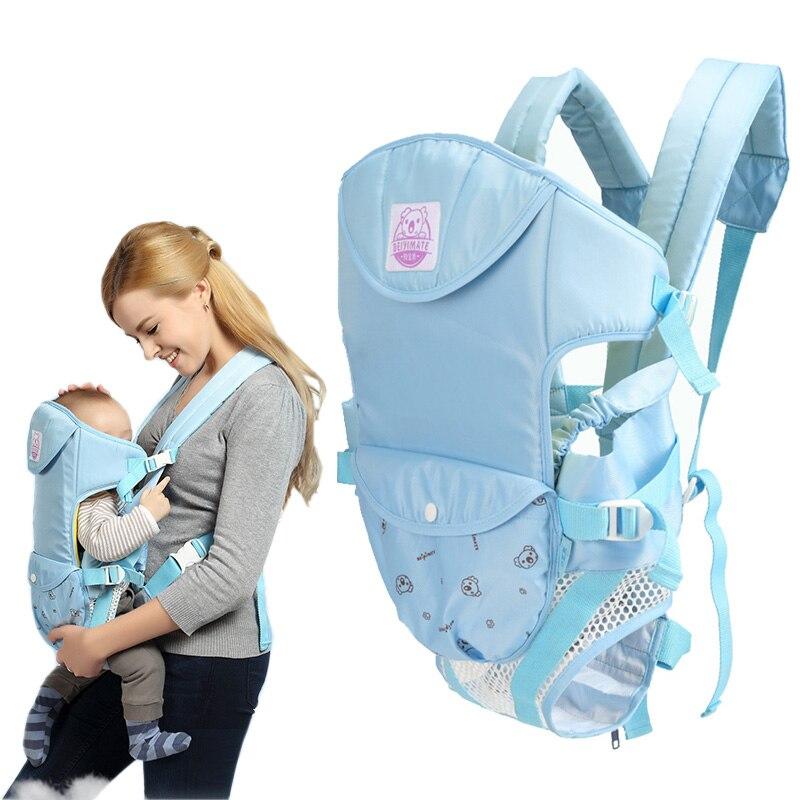 Porte-bébé Ajustable Espace Sling Ergonomique Sac à dos Jarretelles Kangourou Poche Wrap 0-20 Mois Infantile Sac de Transport