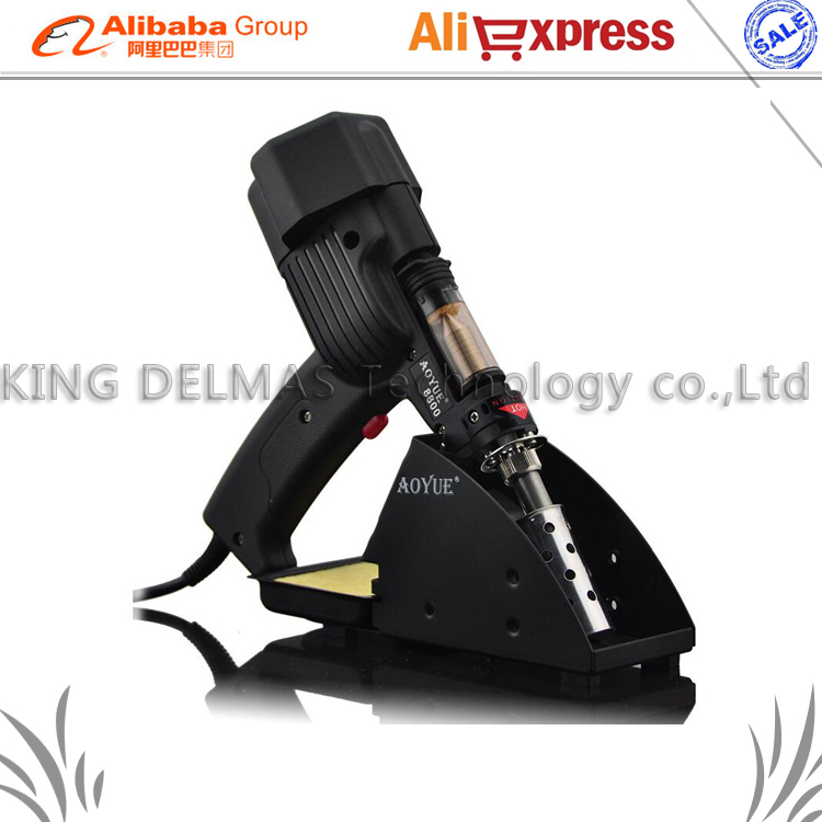 AOYUE 8800 Handheld Desoldering Gun Electric Vacuum Desoldering Dual barrel pump Portable desoldering tool