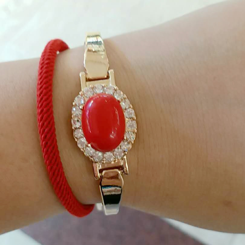 floor dance plated red chic deep bracelet jewelry manola product gold
