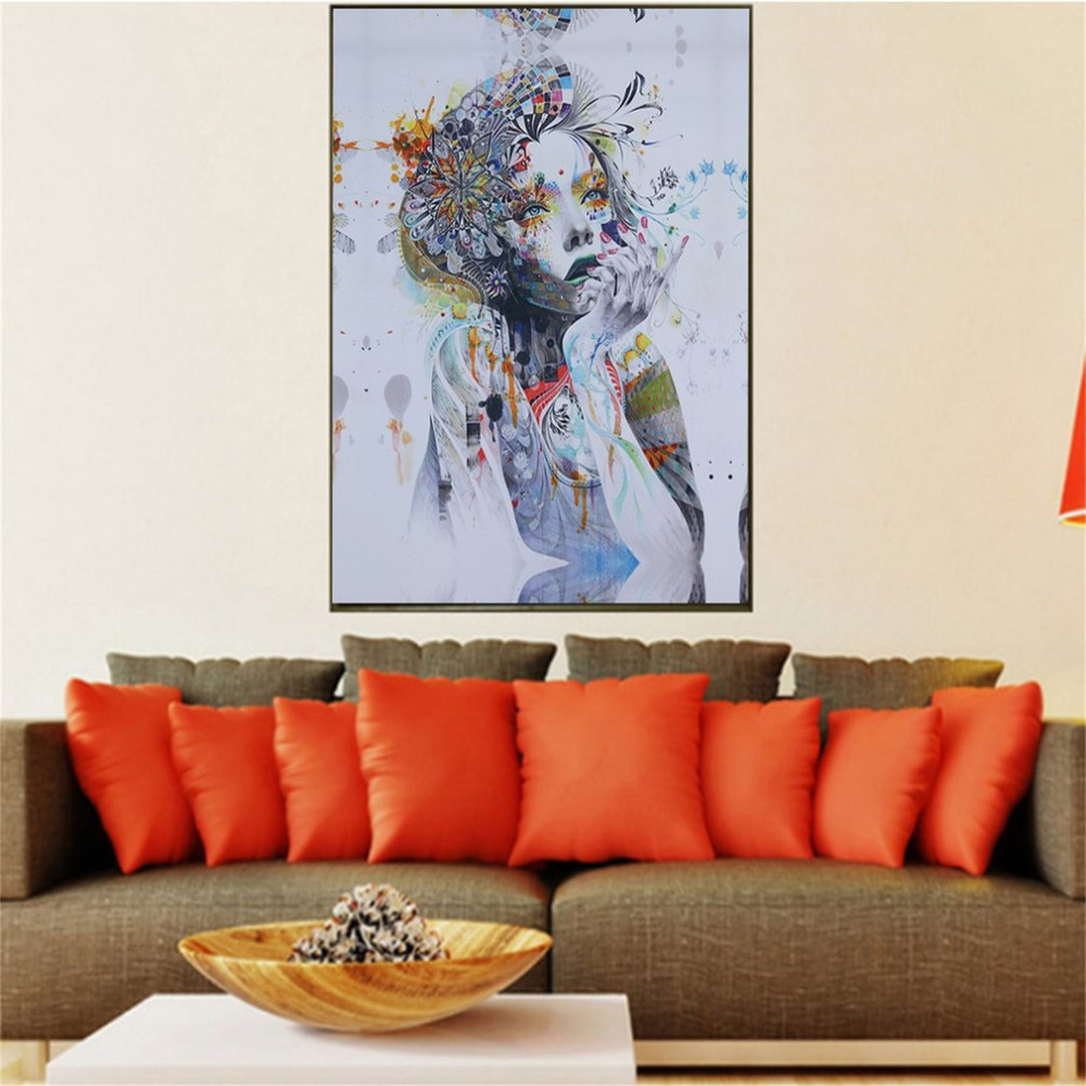 Painting Canvas For Living Room Creative Oil Paintings Promotion Shop For Promotional Creative Oil