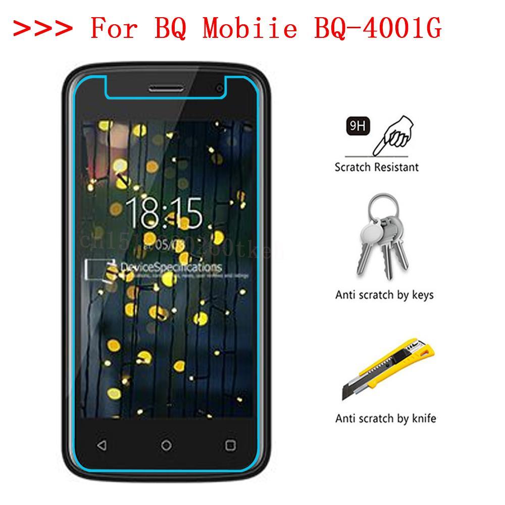 Купить Закаленное стекло для BQ Mobiie BQ-4001G Cool смартфон взрывозащищенный 9 H Защитная пленка крышка на Алиэкспресс