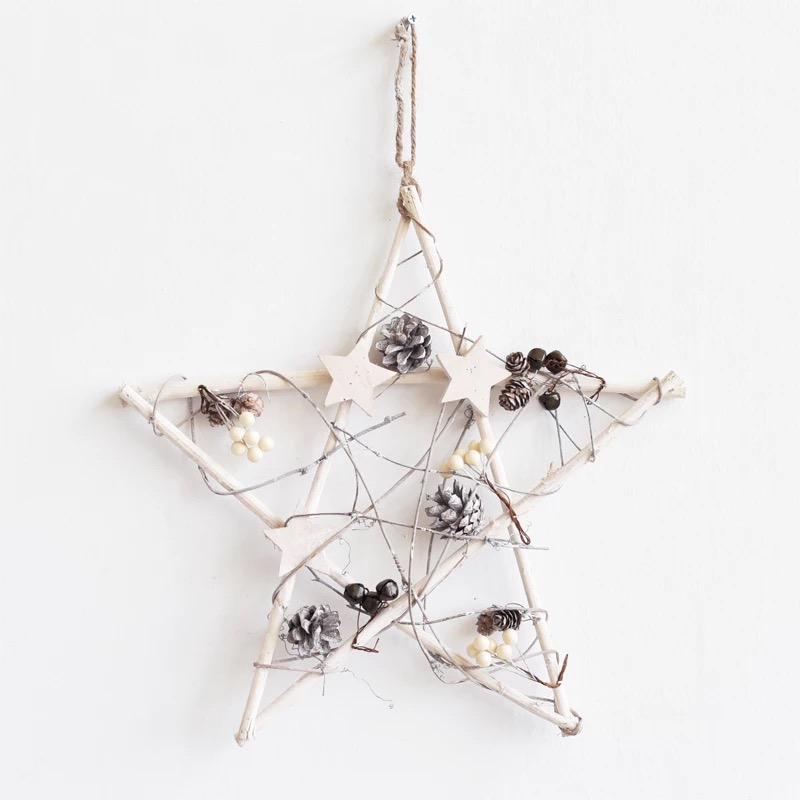 Hot Sale Europe Style Vintage Star Switch Stickers Wall Home Decoration Clothes Hanging Parlor Samll Ornament