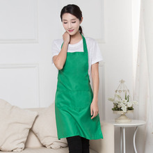 Black Yellow Lady Woman Apron Home Kitchen Chef Aprons Restaurant Cooking Baking Dress Fashion Apron With Pockets