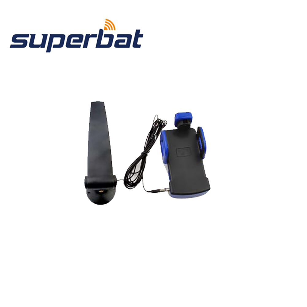 Superbat 3G Antenna 1750~2170MH Mobile Cell Phone Aerial 12dB Signal Booster With Clip FME Female Jack Connector 2.5M Cable