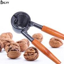 BXLYY Hot Wooden Handle Walnut Clip Almond Hazelnut Nut Kitchen Gadget Home Decoration New Year Baby Shower.7z