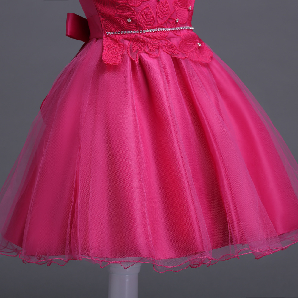 1c43db5d260ab Designer Cape Dress Patterns Sleeveless Short Formal Party Girls Dresses  Size 3 4 5 6 7 8 9 10 Year Old Girl Wedding Gowns