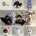 Высокое качество 16-30 см 6 Стилей Тайная Жизнь Домашних Животных Плюшевые Игрушки собак и Кошек и Кроликов Животных Куклы Рождественские подарки для дети