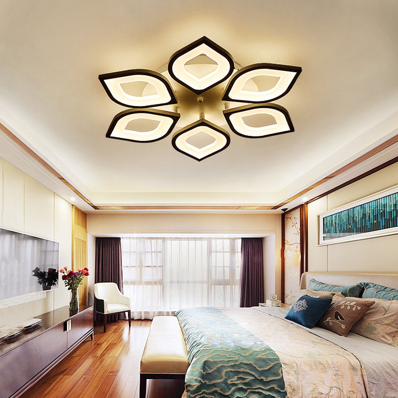 Modern Acrylic Design Ceiling Lights Bedroom Living Room 90~260V ...