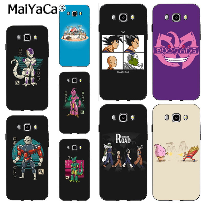 Note 3 Note4 Note5 Case Coque Tireless Maiyaca Dragon Ball Z Colorful Phone Accessories Case For Samsung J5 J120 J3 J7 2015
