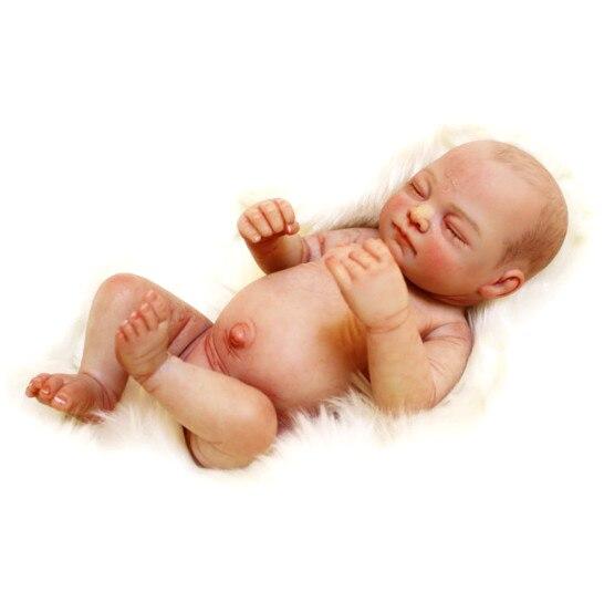 10 /28 centimetri di Sonno Mini Bambino Rinato Bambola di fascia alta Completo Del Corpo Del Vinile fatto a mano In Silicone Reborn Baby Doll per la Vendita boneca de silicone10 /28 centimetri di Sonno Mini Bambino Rinato Bambola di fascia alta Completo Del Corpo Del Vinile fatto a mano In Silicone Reborn Baby Doll per la Vendita boneca de silicone