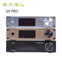 SMSL Q5 Pro 45 W * 2 HiFi 2.0 Pur Mini Maison Numérique Audio Puissance Amplificateur 24bit/96 kHz USB DAC/Optique/Coaxial Avec Télécommande