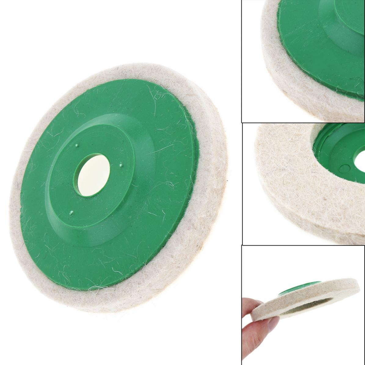 Precision Soft Wool Polishing Plate Felt Wheel for Metal / Glass /Ceramics