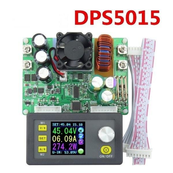 DP50V15A DPS5015 программируемый питания Мощность модуль со встроенным Вольтметр Амперметр Цвет Дисплей