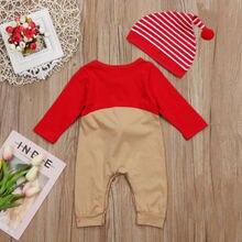 Baby Boys Girl Xmas Deer Clothes Christmas Costume Set